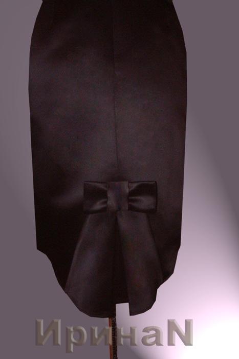 Сшить юбку сзади с бантом 39